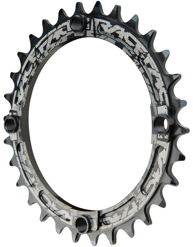 104mm BCD 32t Black RaceFace Narrow Wide Chainring