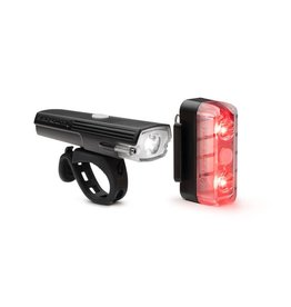 Blackburn Dayblazer 400 Front/65 Rear Light Combo - Black