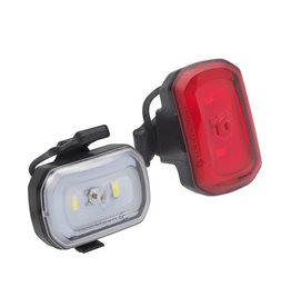 Blackburn Blackburn Click USB Front + Rear Light Set - Black
