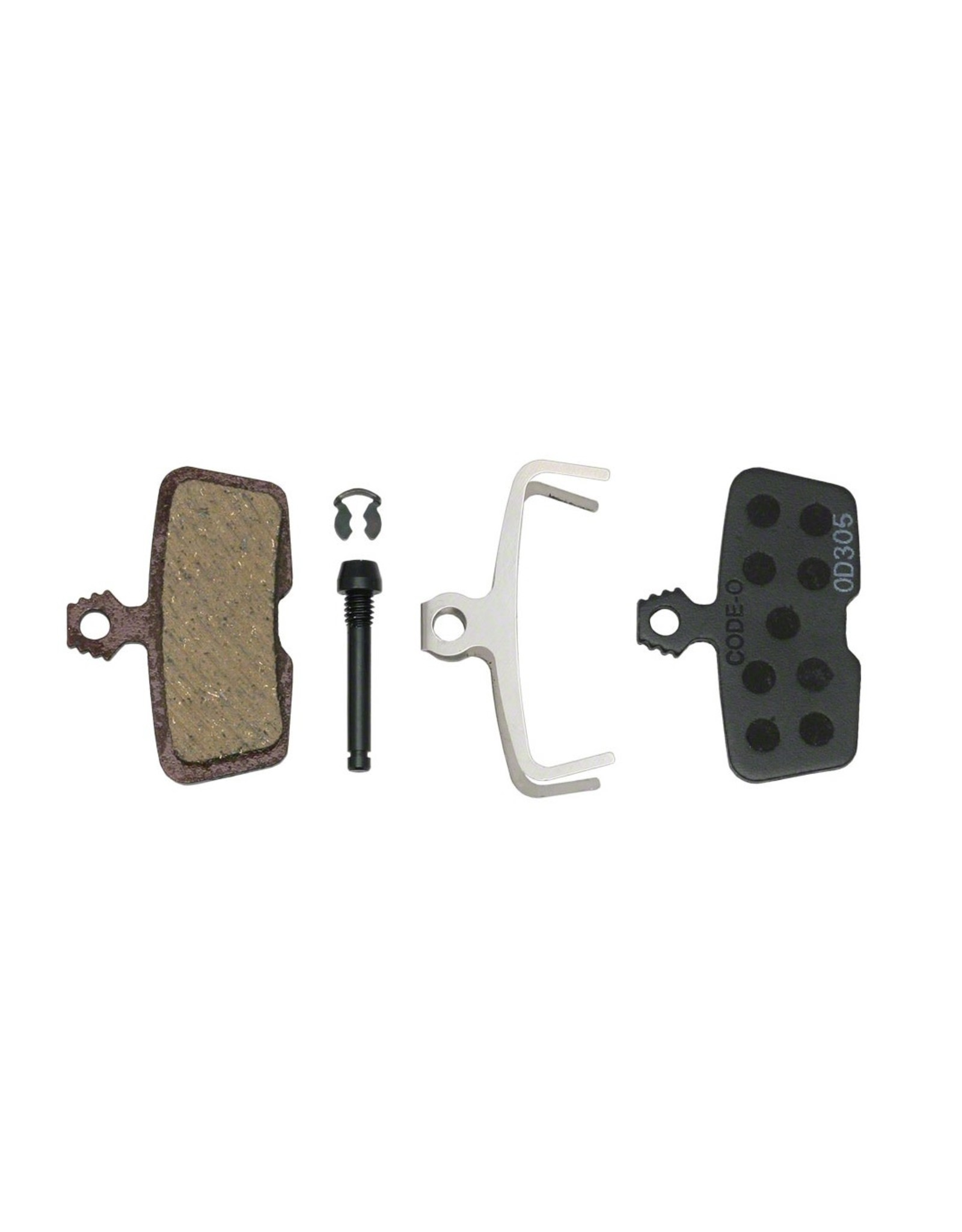 SRAM SRAM Disc Brake Pads - Organic Compound, Steel Backed, Quiet, For Code 2011+ and Guide RE