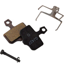 SRAM SRAM Disc Brake Pads - Organic Compound, Steel Backed, Quiet, For Level, Elixir, DB, and 2-Piece Road