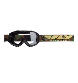 FLY RACING Fly Racing Focus Goggle Camo w/ Clear Lens
