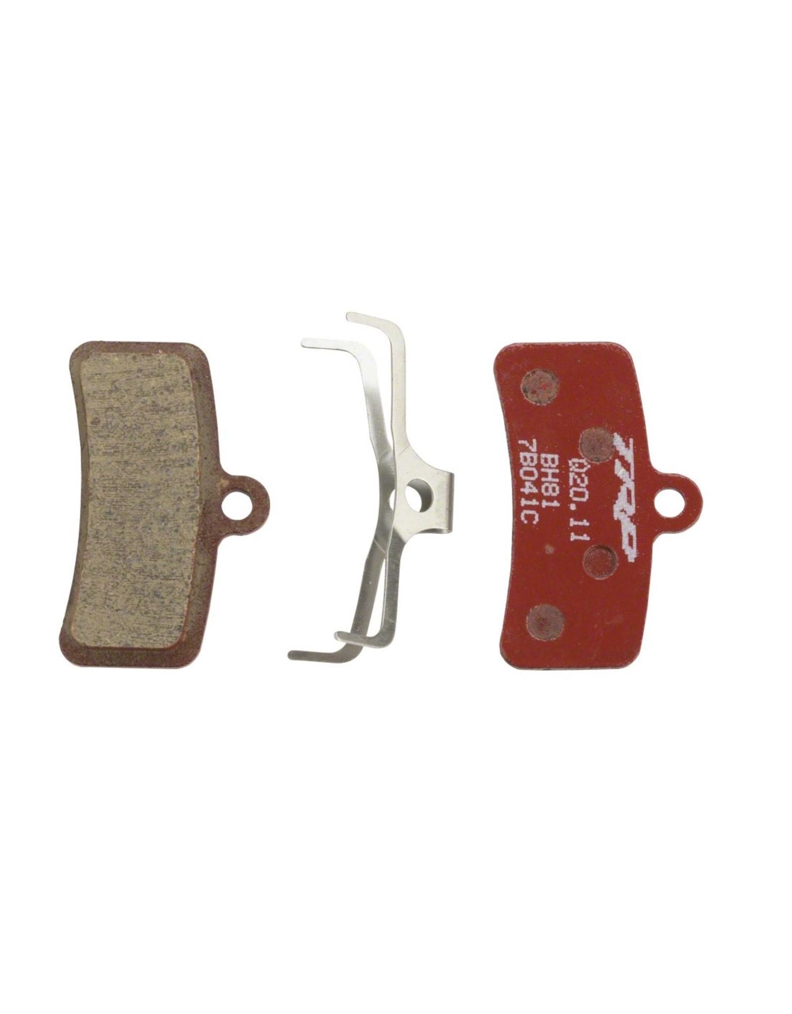 TRP TRP Slate/Quadiem/Quadiem SL Disc Brake Pad Set - RED RESIN