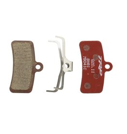 TRP TRP 4-Piston Semi-Metallic Pads, Red