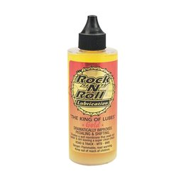 Rock-N-Roll Rock-N-Roll Gold Bike Chain Lube - 4 fl oz, Drip