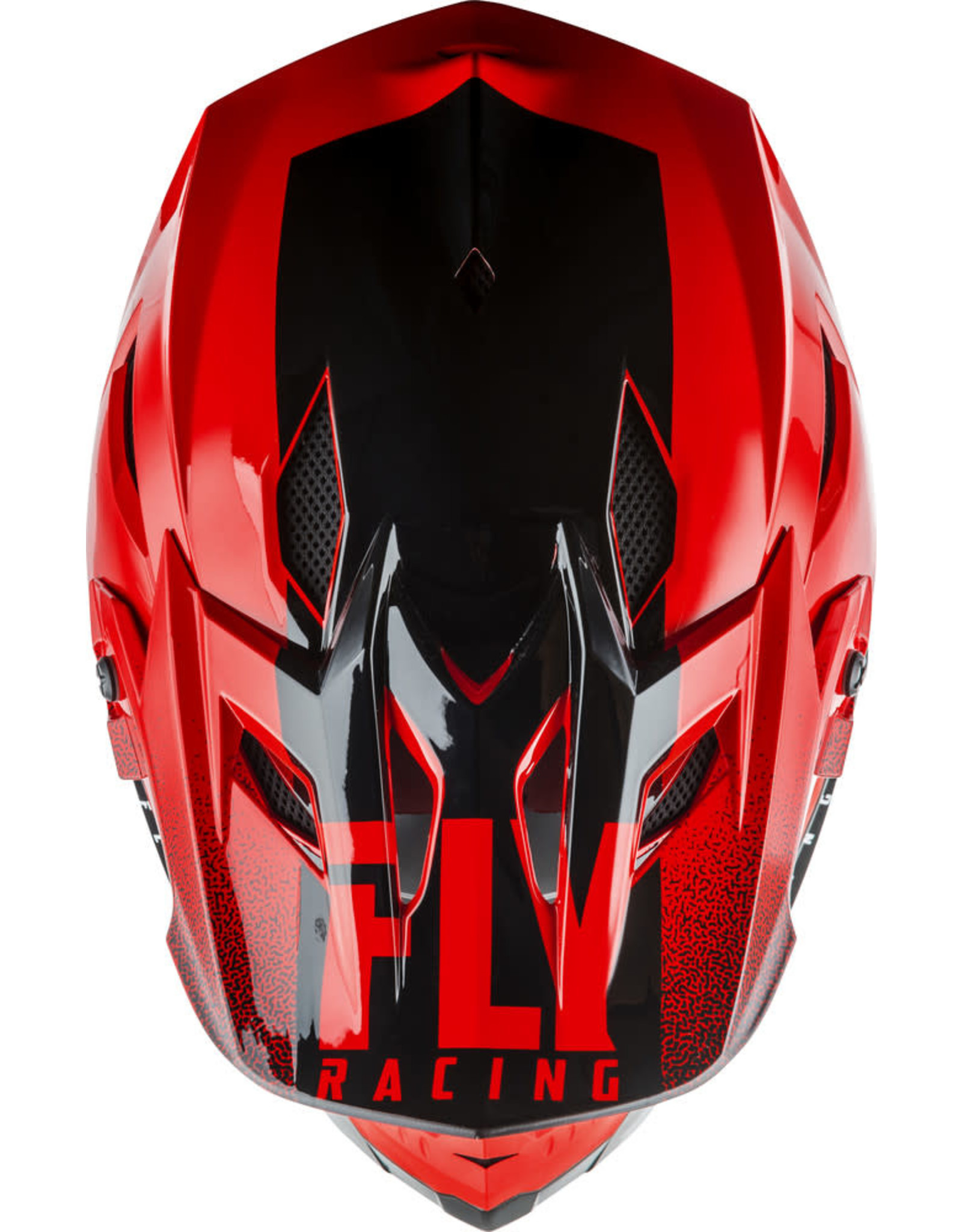FLY RACING Fly Racing Default Helmet Black/Red