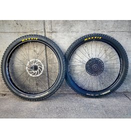 USED: 27.5+ Boost Wheelset w/ Tires Cassette Rotors