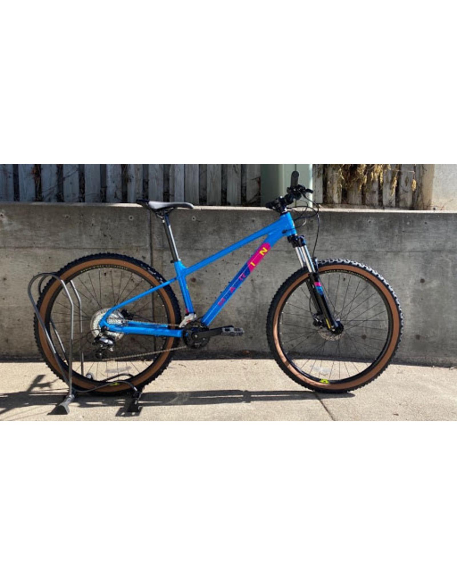 Marin Bikes 2022 Marin Bobcat Trail 3 GLOSS BRIGHT BLUE/DARK BLUE/YELLOW/MAGENTA