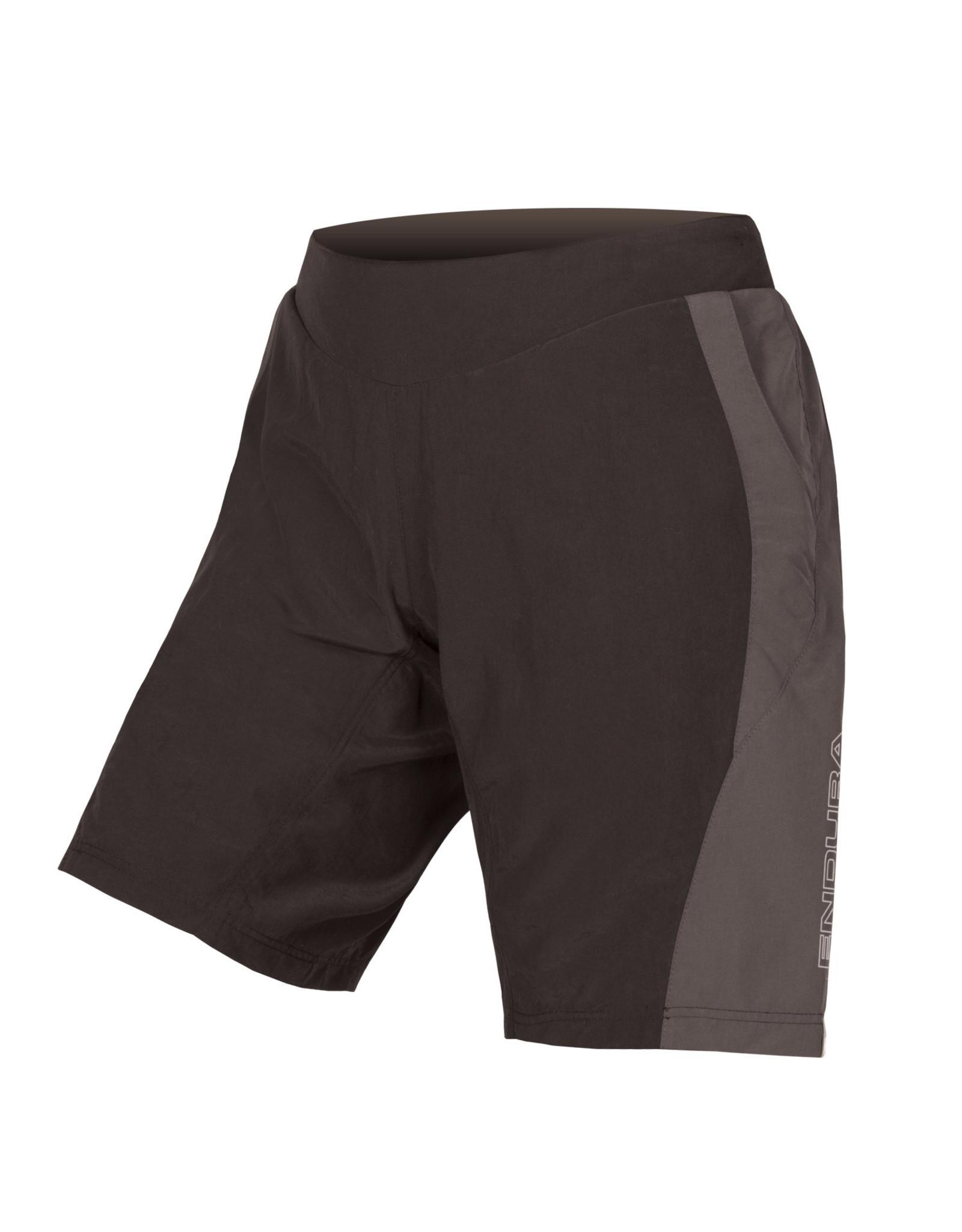 Endura Women's Endura Pulse Short w/ Padded Liner Black