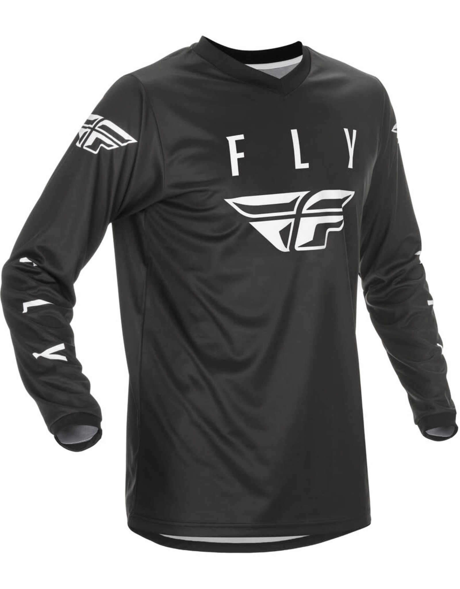 FLY RACING 2021 Fly Racing Universal Jersey Black/White