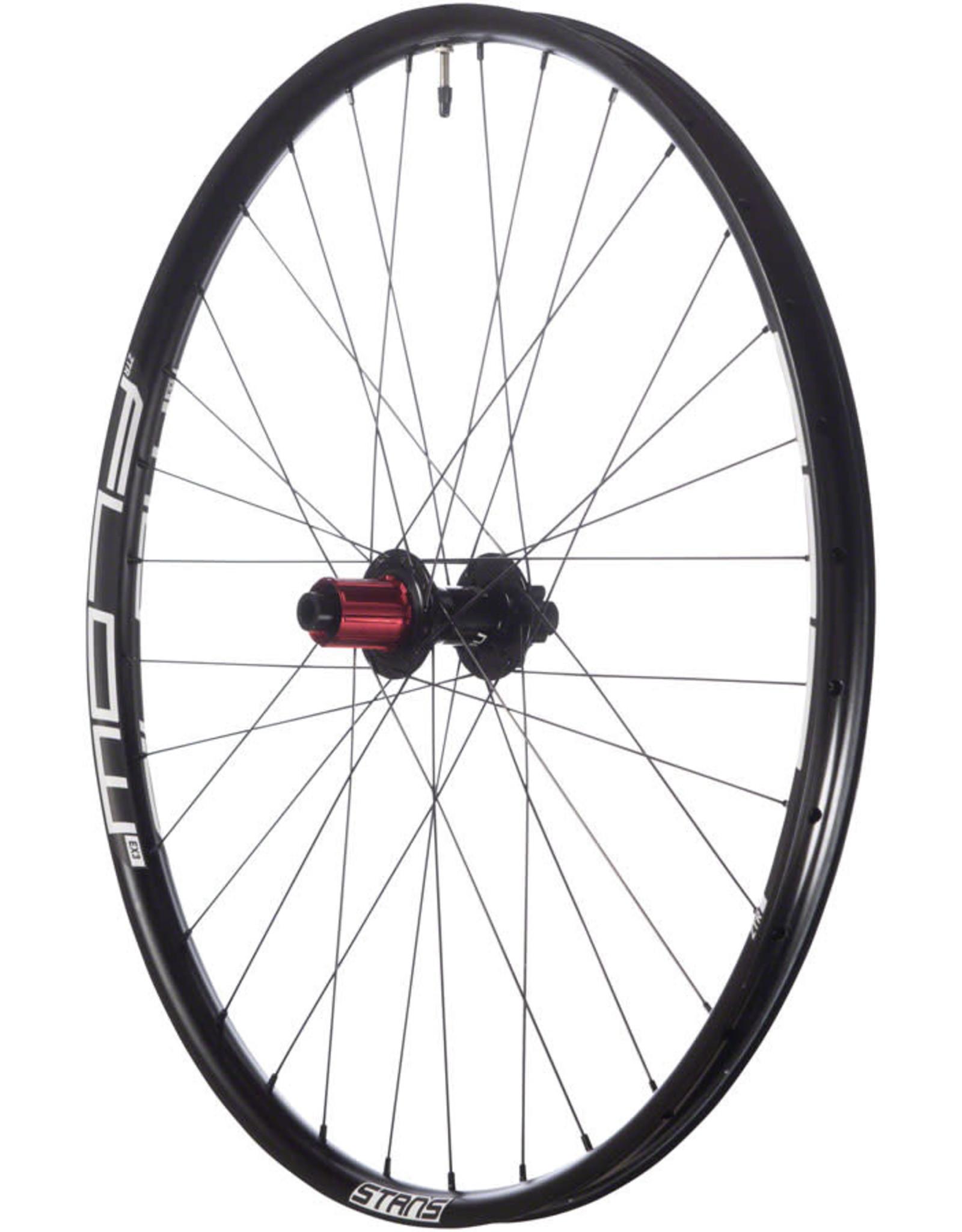 "Stan's No Tubes Stan's No Tubes Flow EX3 Rear Wheel - 29"", 12 x 148mm Boost, 6-Bolt, HG 11, Black"