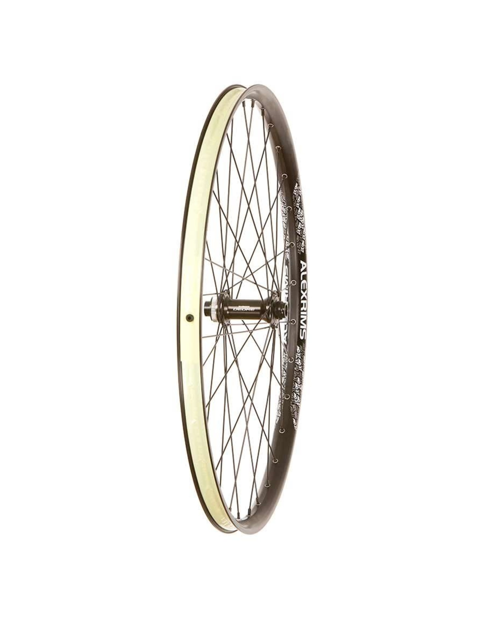 Wheel Shop Alex MD27/ Shimano M6010 27.5'', Wheel, Front, 15mm TA, 110mm Boost, Center Lock