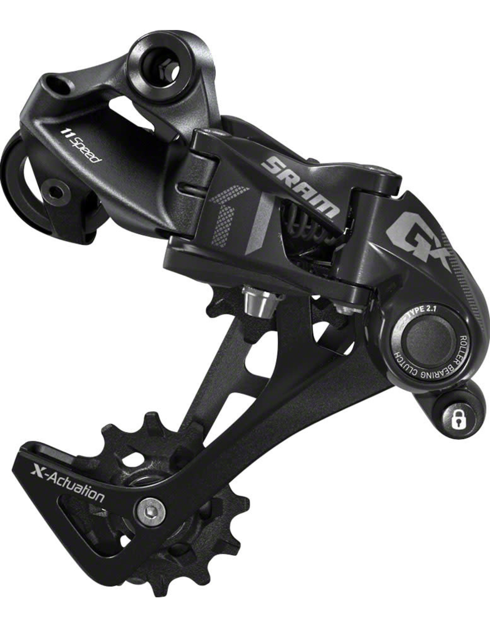 SRAM SRAM GX Rear Derailleur - 11 Speed, Long Cage, Black, 1x, With Clutch