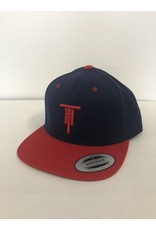 Two Hoosiers Cyclery 2021 Two Hoosiers Cyclery Classic Snapback Navy/Red