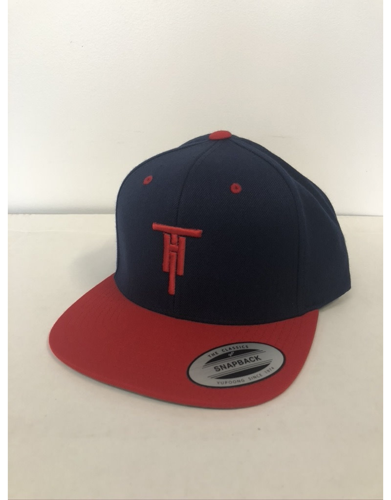 2021 Two Hoosiers Cyclery Classic Snapback Navy/Red