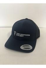 Two Hoosiers Cyclery 2021 Two Hoosiers Cyclery Retro Trucker Hat Navy