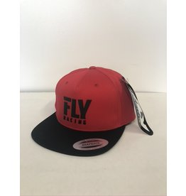 FLY RACING FLY LOGO HAT RED ADULT