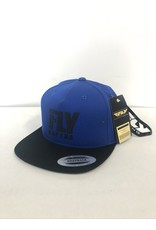 FLY RACING FLY LOGO HAT BLUE ADULT