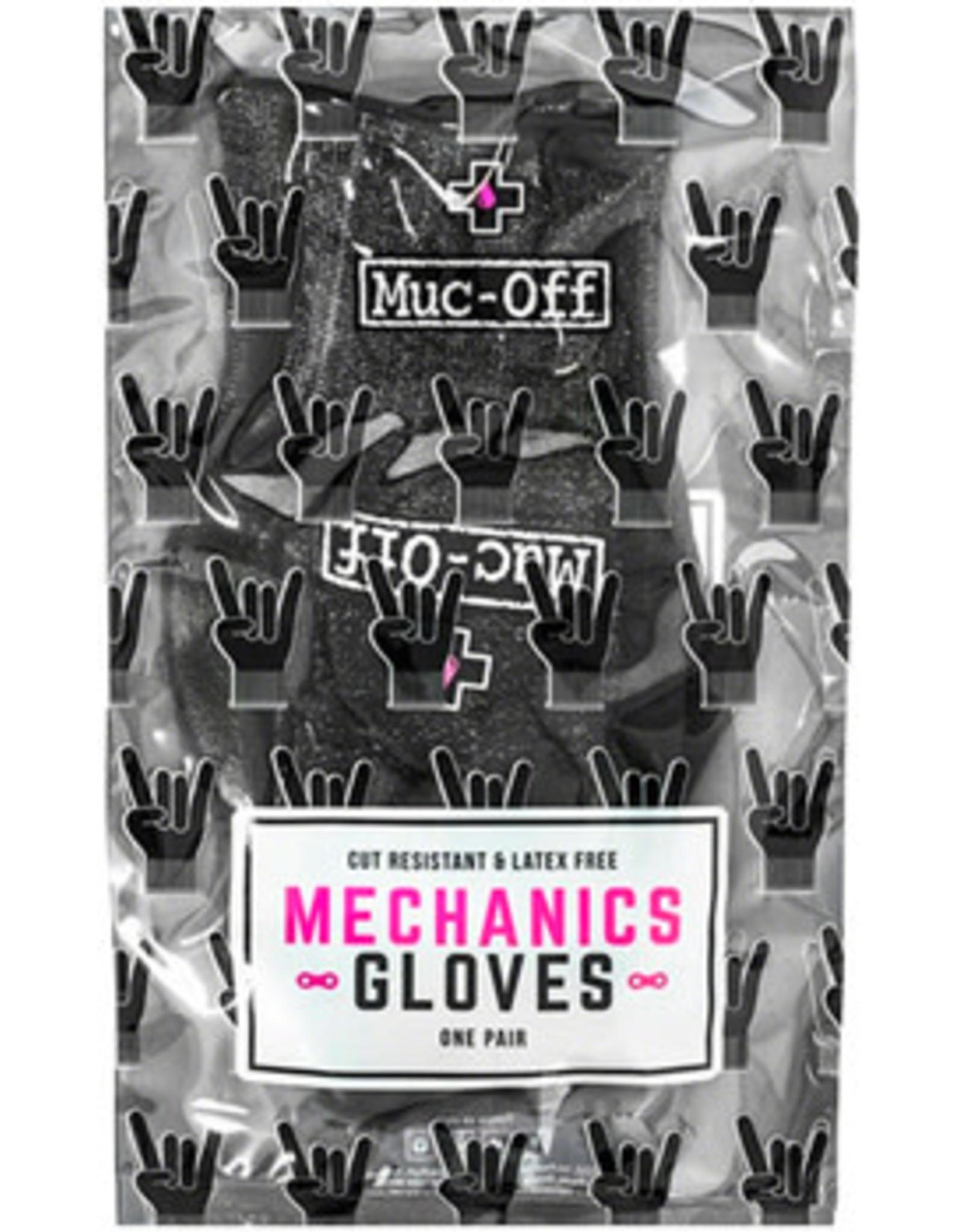 Muc-Off Muc-Off Mechanics Gloves - Black, Full Finger, X-Large