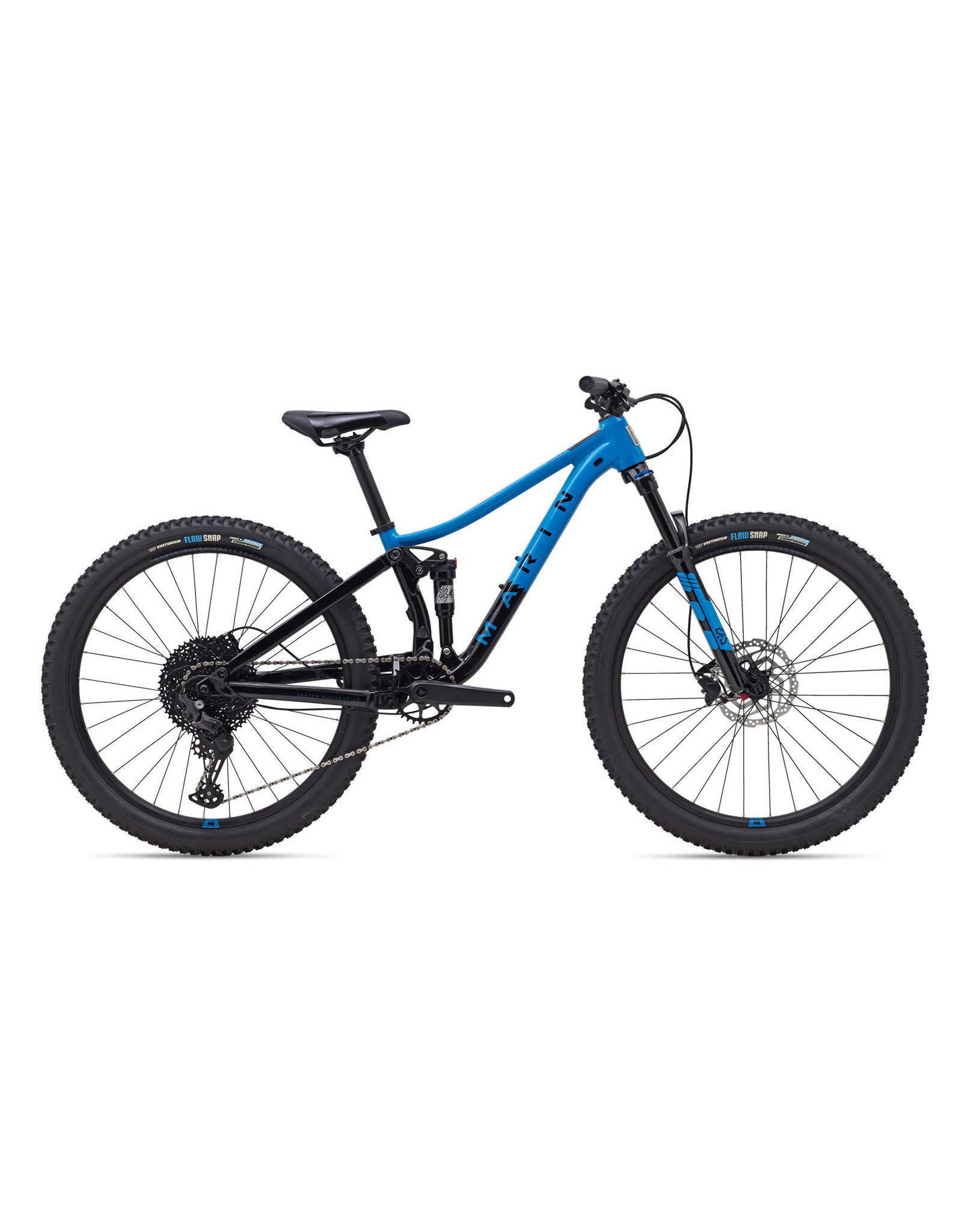 "Marin Bikes 2022 Marin Rift Zone Jr. 24"" Black/Blue"