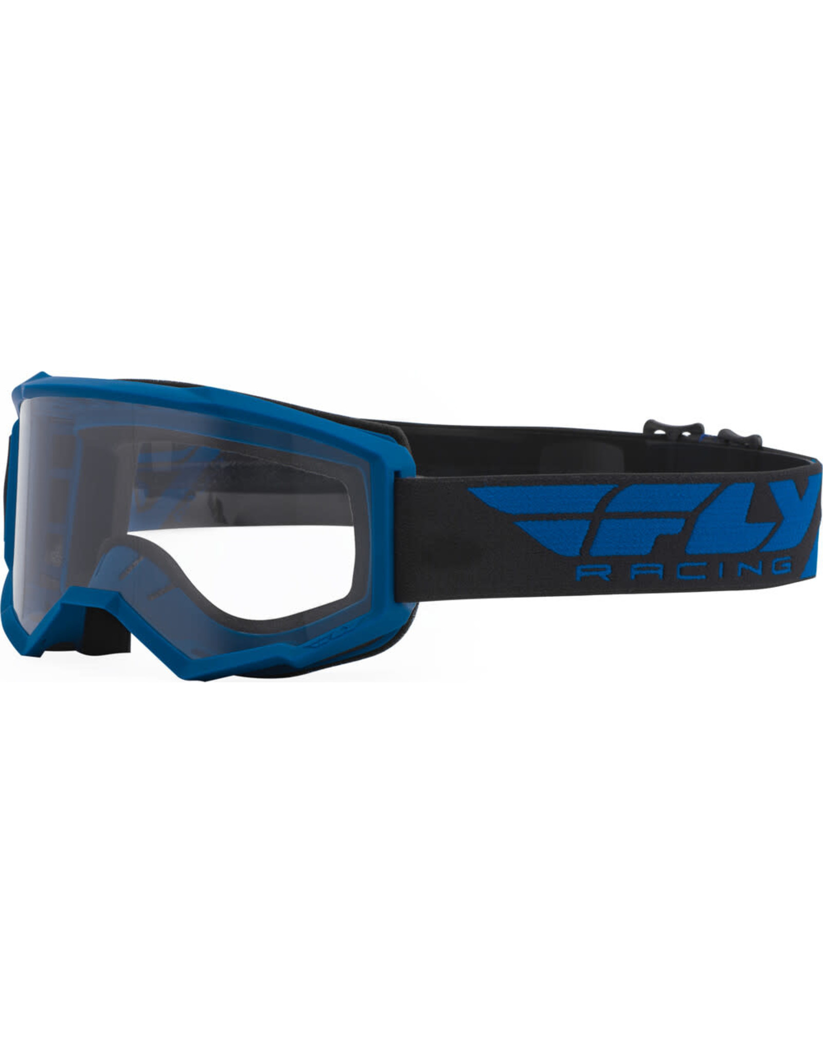 FLY RACING Fly Racing Focus Goggle Blue w/ Clear Lens
