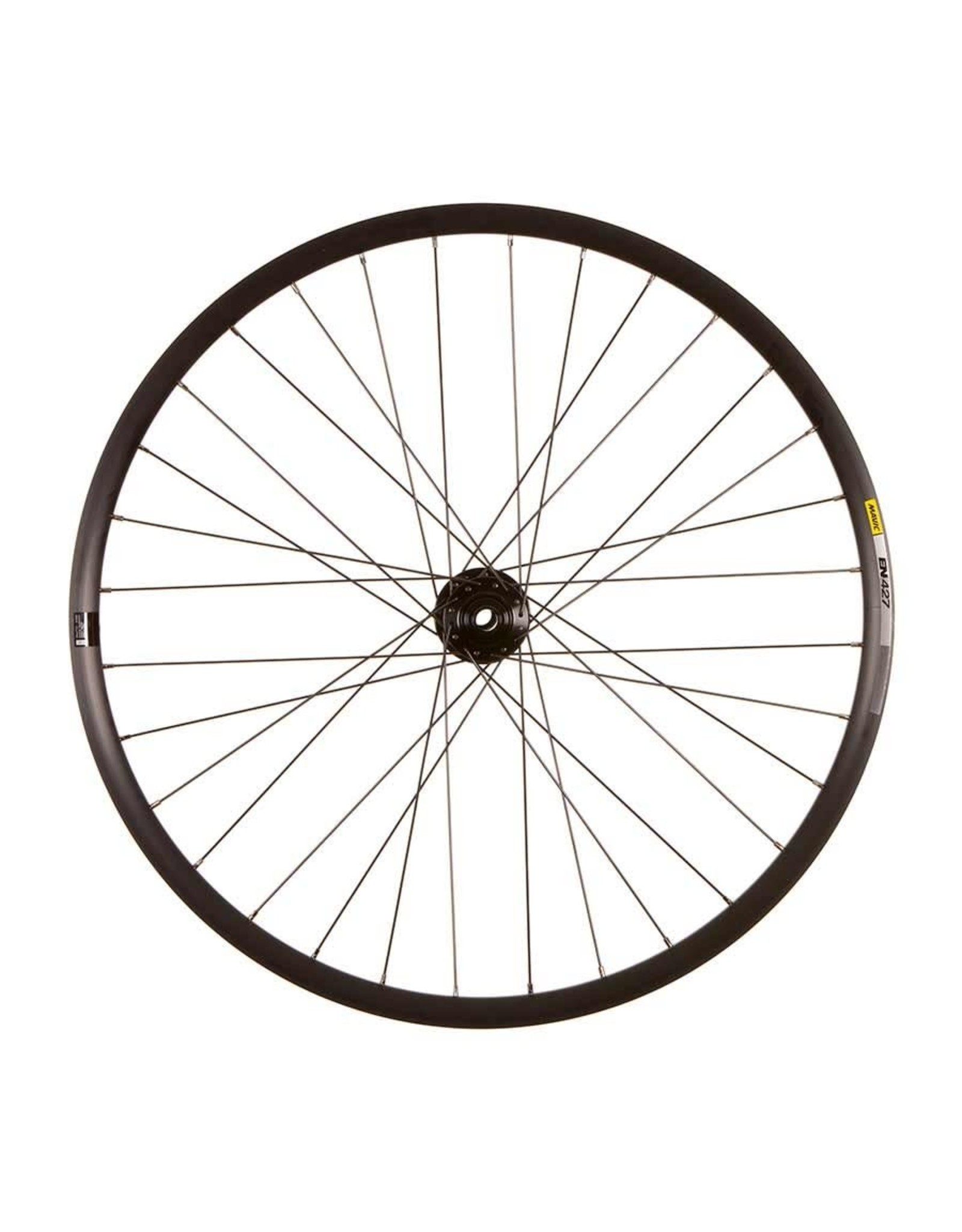 SRAM Mavic EN427 Disc Black/ SRAM 900, Wheel, Front, 27.5'' / 584, Holes: 32, 15mm TA, 110mm Boost, Disc IS 6-bolt