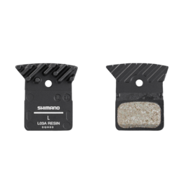 Shimano Shimano L03A Resin Disc Brake Pads - Resin, Aluminum Backed, Finned, Fits 105 BR-R7070, BR-RS405, BR-R9170, and BR-R8070