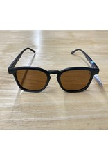 Optic Nerve Optic Nerve Sunglasses: Totem Matte Blk/Gunmetal w/ Polarized Brn Lens w/ Violet Mirror