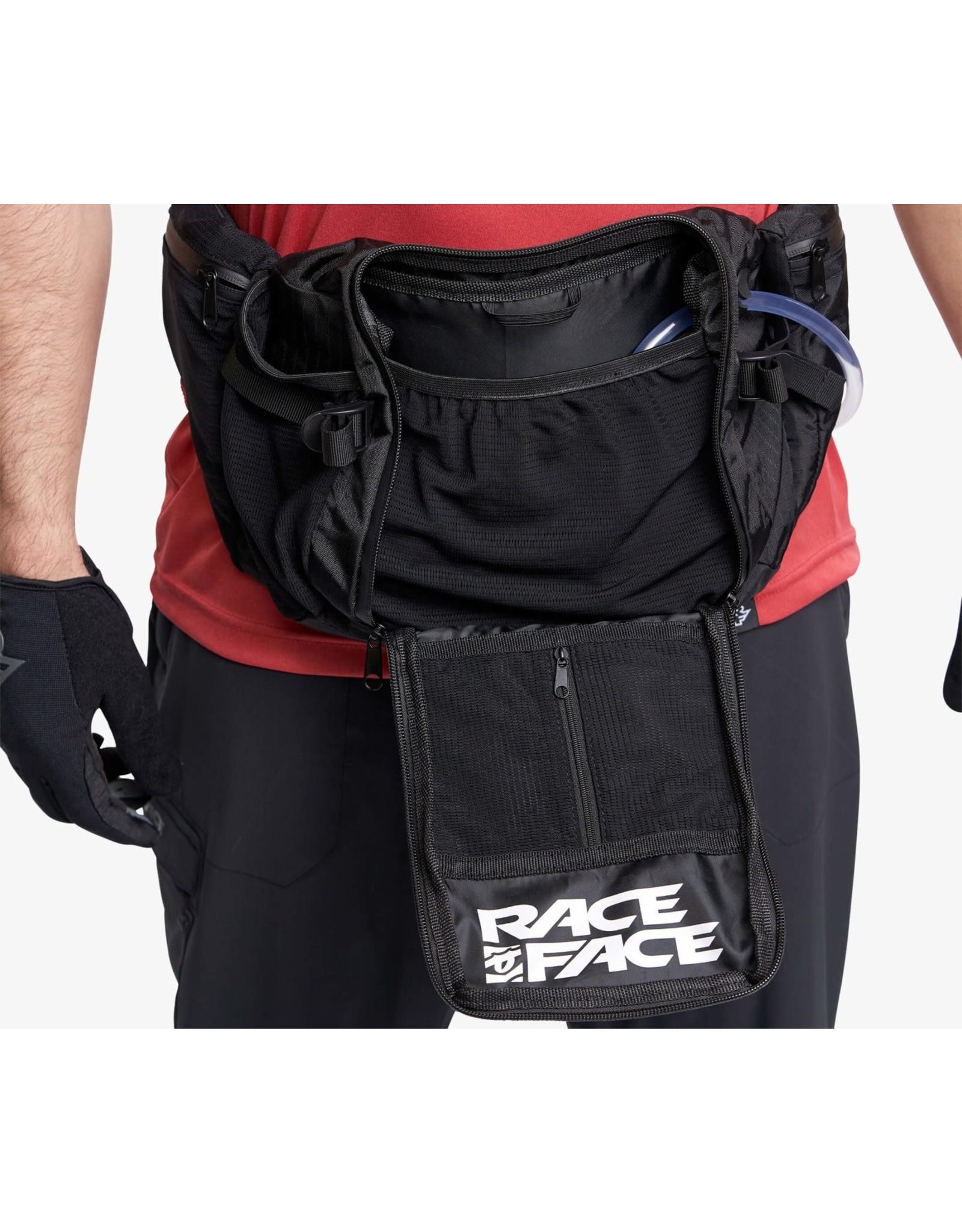 Race Face Raceface Stash 3L Hip Bag-Stealth-Onesize Stealth