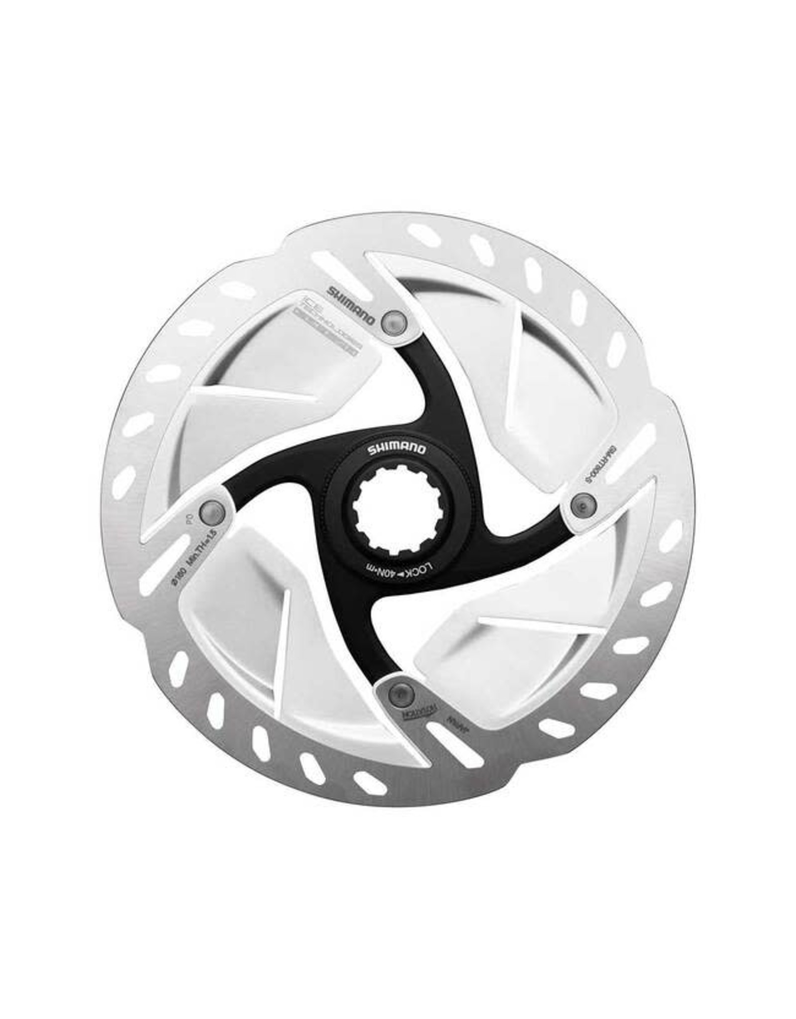 Shimano Shimano Ultegra SM-RT800-SS Disc Brake Rotor - 140mm, Center Lock, Silver
