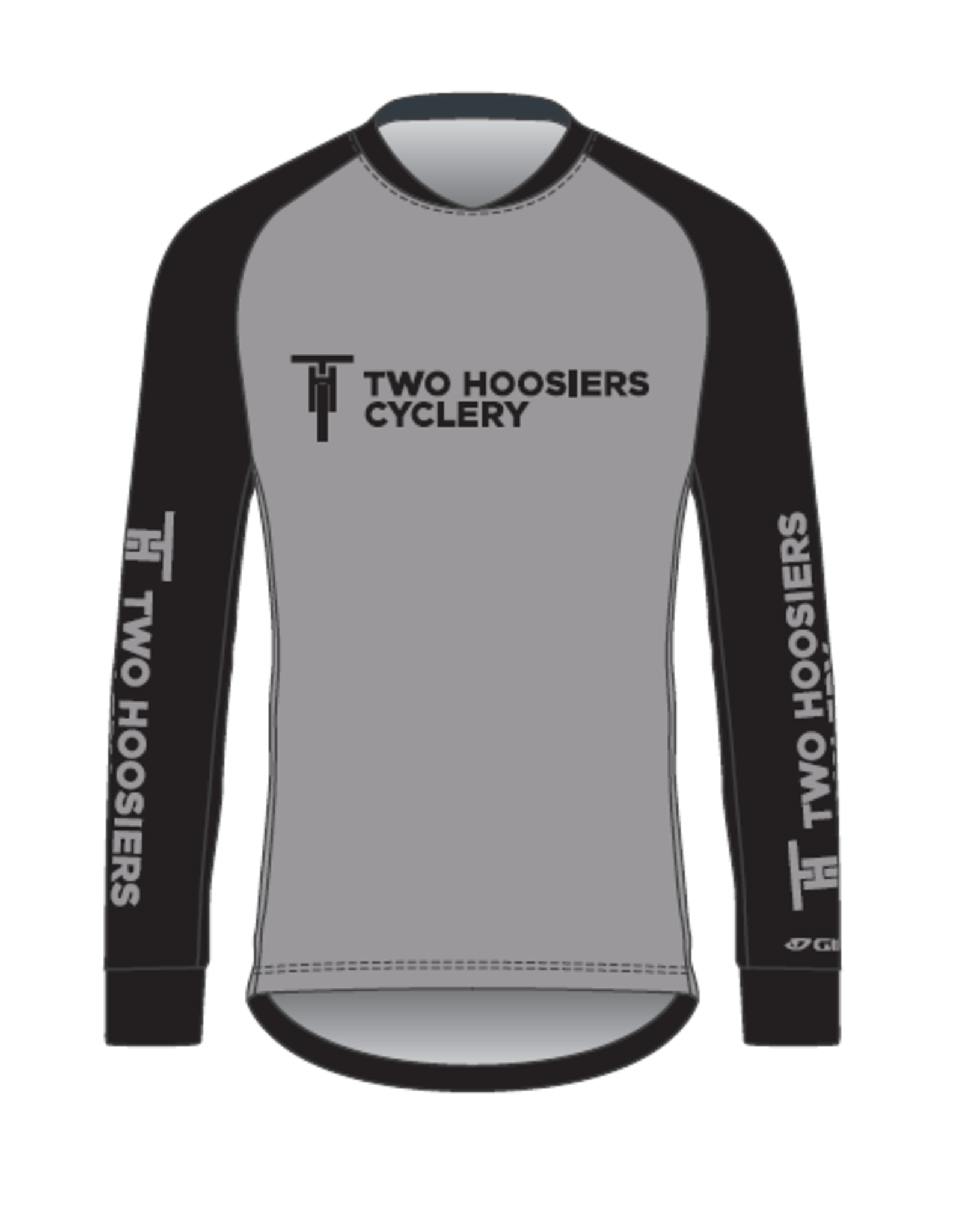 Giro 2021 Two Hoosiers Cyclery Giro Roust Long Sleeve Jersey