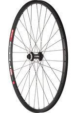 """Quality Wheels Shimano Deore M610/DT 533d Front Wheel - 29"""", 15 x 110mm Boost, Center-Lock, Black"""
