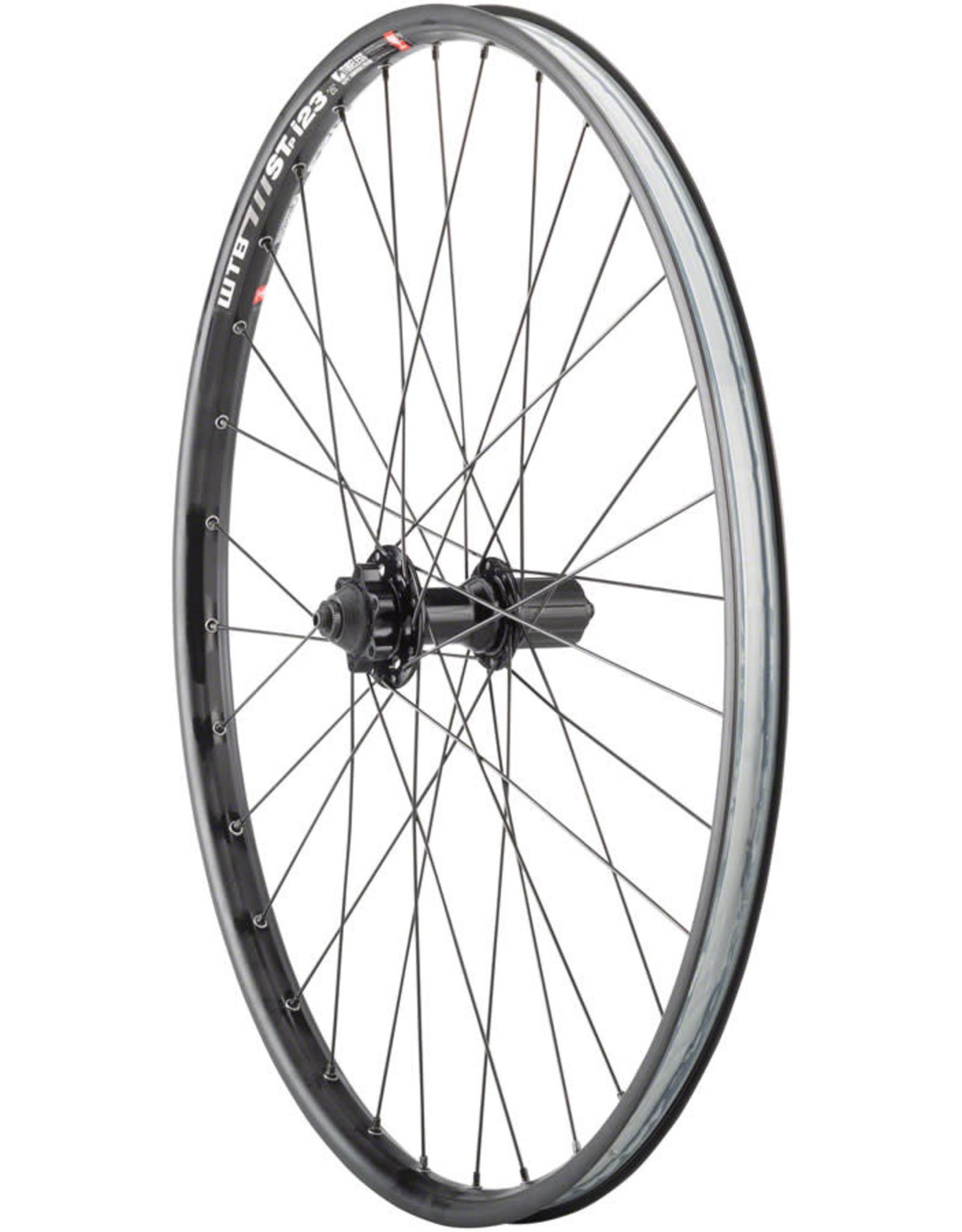 "Quality Wheels WTB ST i23 TCS Disc - 26"", QR x 135mm, 6-Bolt, HG 10, Black, Rear Wheel"