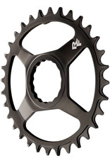RaceFace RaceFace Narrow Wide Chainring: Direct Mount CINCH, 32t, Steel, Black