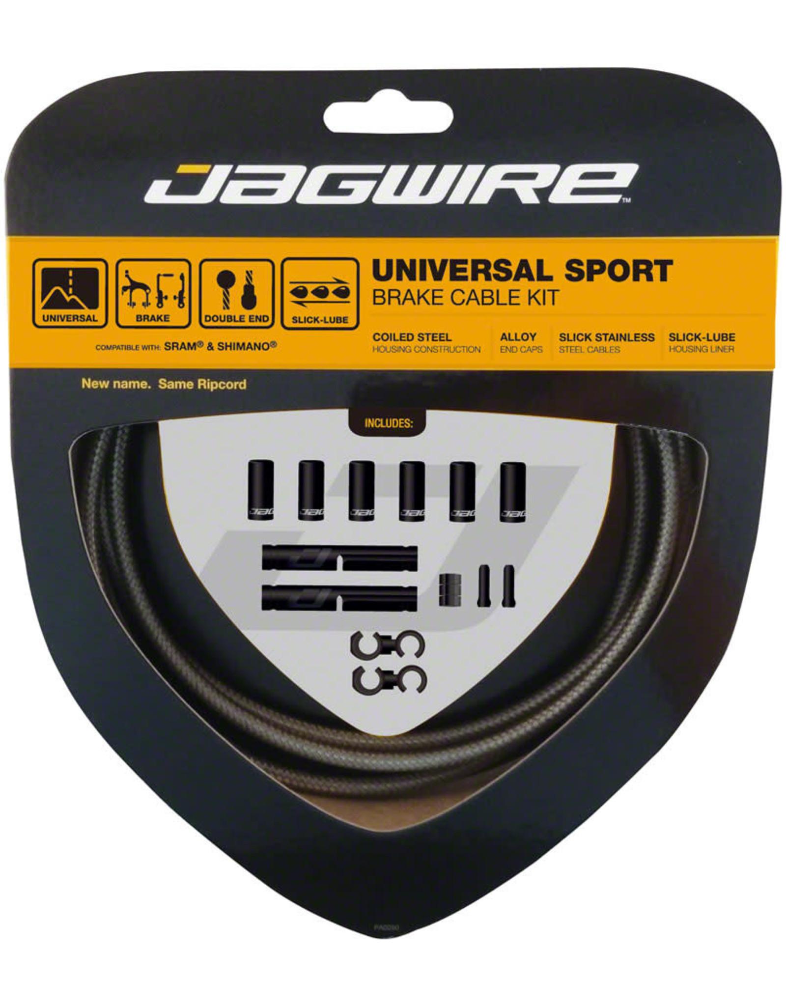 Jagwire Jagwire Universal Sport Brake Cable Kit, Sterling Silver