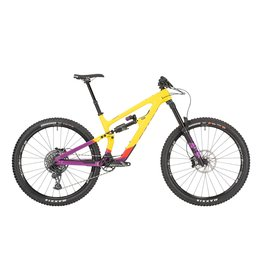 "Salsa 2021 Salsa Cassidy Carbon GX Eagle Bike - 29"", Carbon, Yellow/Purple"