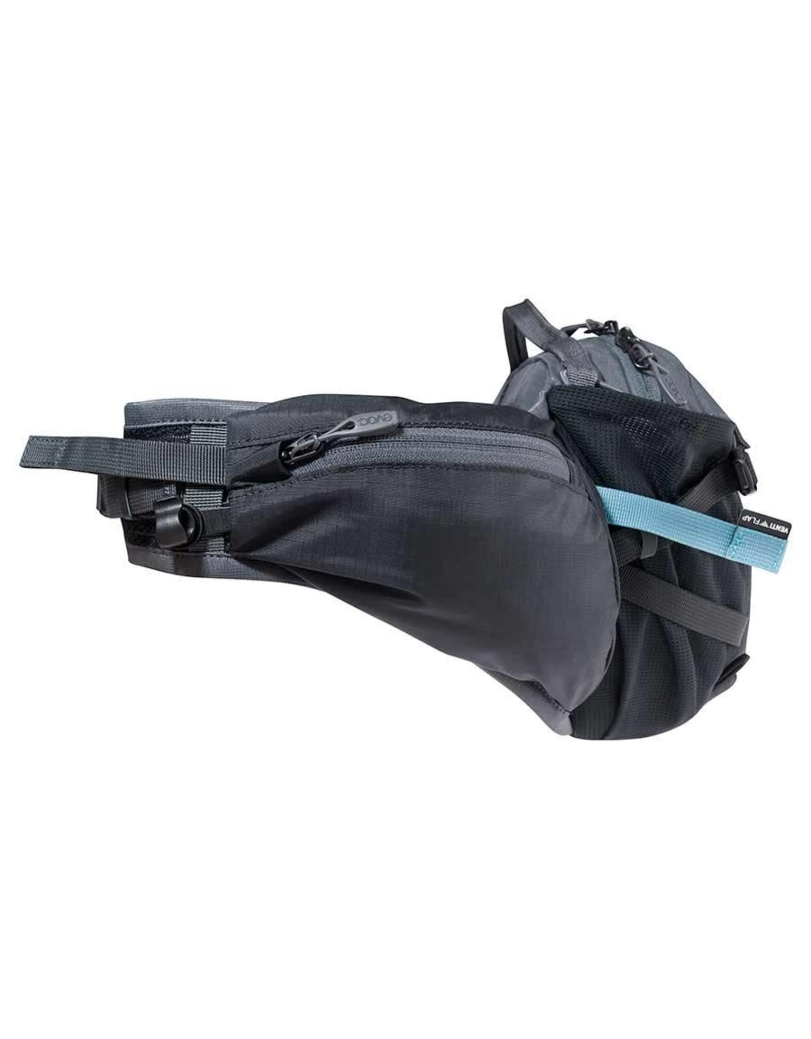 EVOC EVOC, Hip Pack Pro, Hydration Bag, Volume: 3L, Bladder: Included (1.5L), Black/Carbon Grey