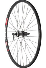 "Quality Wheels Quality Wheels Deore M610/DT 533d Rear Wheel - 26"", QR x 135mm, Center-Lock, HG 10, Black"
