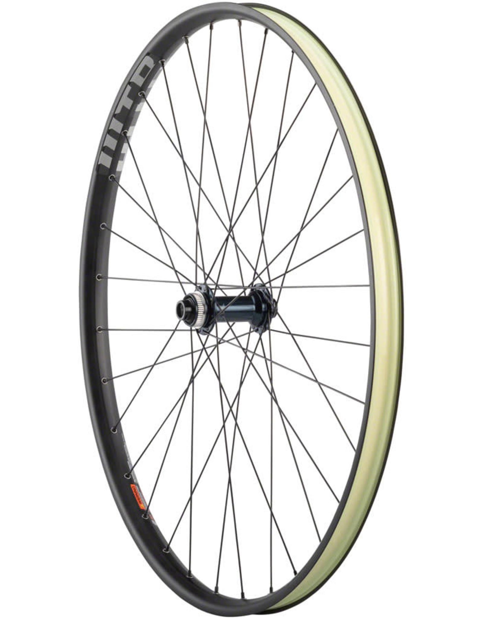 "Quality Wheels Quality Wheels SLX/WTB ST Light i29 Front Wheel - 29"", 15 x 110mm Boost, Center-Lock, Black"