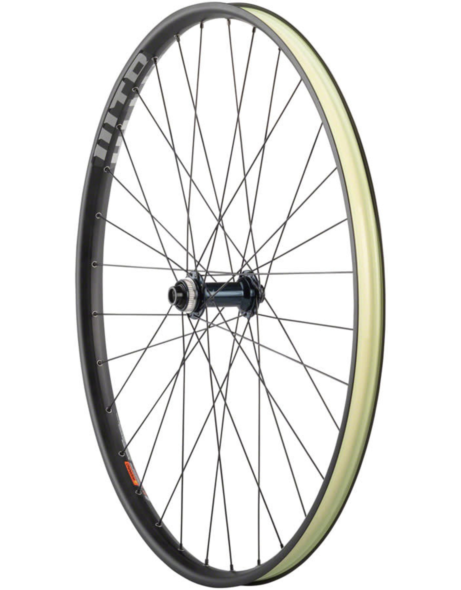 "Quality Wheels SLX/WTB ST Light i29 - 29"", 15 x 110mm Boost, Center-Lock, Black, Front Wheel"