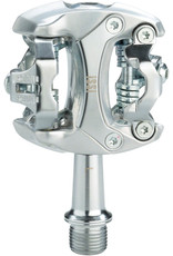 """iSSi iSSi Flash II Pedals - Dual Sided Clipless, Aluminum, 9/16"""", Silver"""