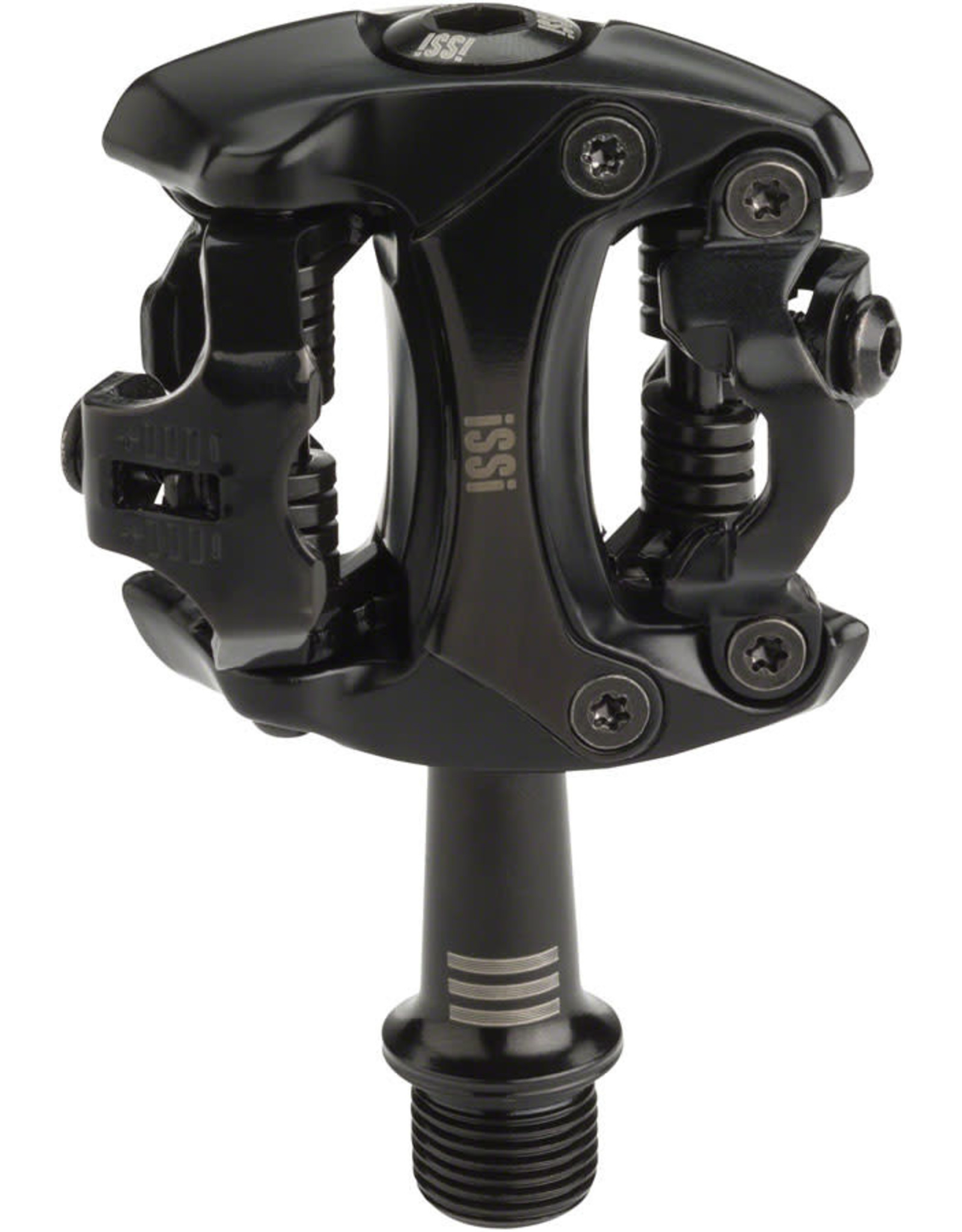 """iSSi iSSi Flash III Pedals - Dual Sided Clipless, Aluminum, 9/16"""", Black"""