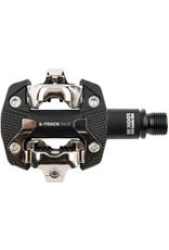 Look Look, X-Track Race, MTB Clipless Pedals, Composite body, Cr-Mo axle, 9/16'', Black