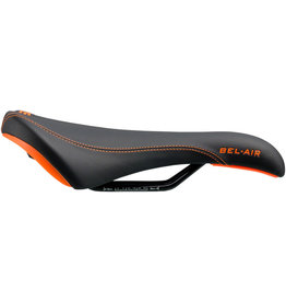 SDG SDG Bel-Air RL Saddle - Steel, Black/Orange