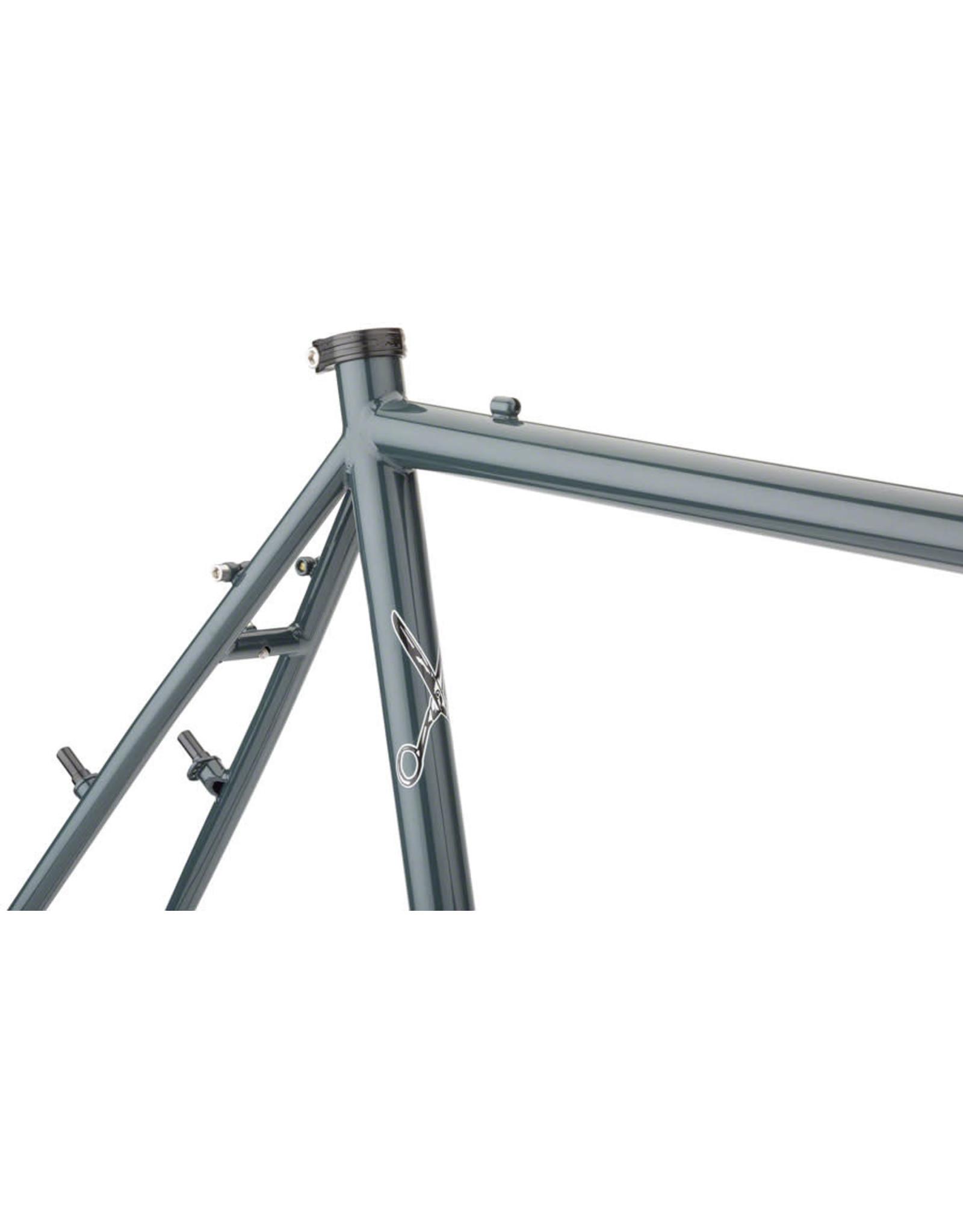 Surly Surly Cross-Check Frameset - 700c, Steel, BlueGreenGray
