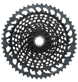 SRAM SRAM X01 Eagle XG-1295 Cassette - 12-Speed, 10-52t, Black, For XD Driver Body, Lunar