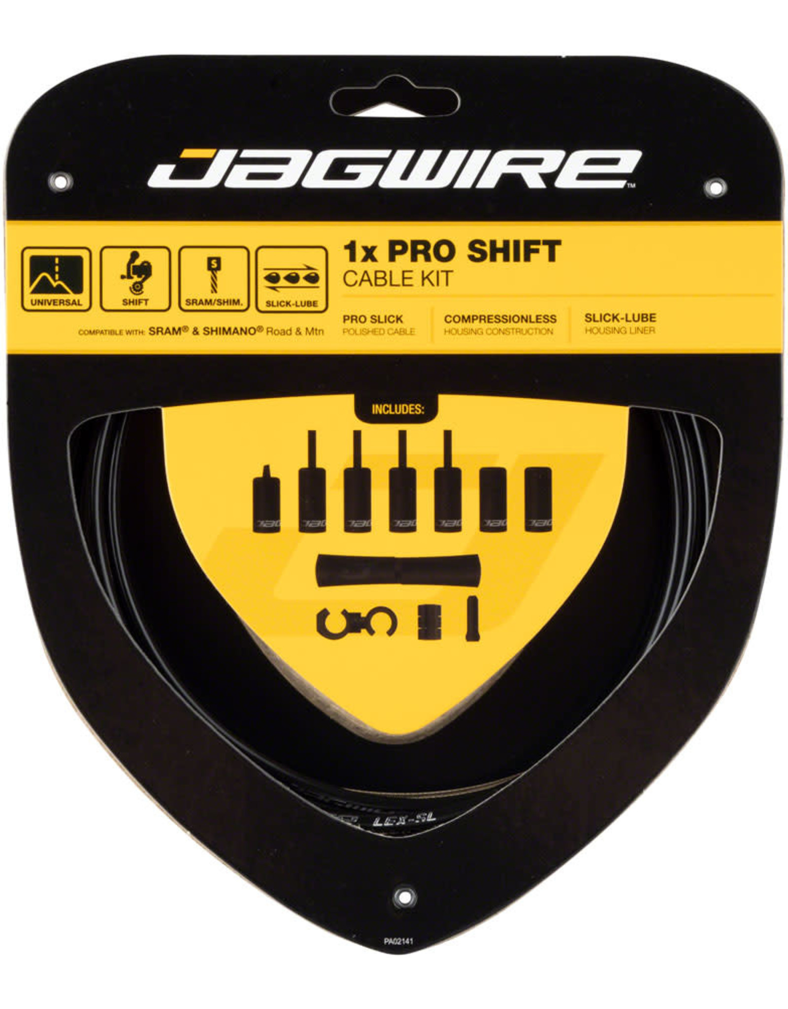 Jagwire Jagwire 1x Pro Shift Kit Road/Mountain SRAM/Shimano, Black