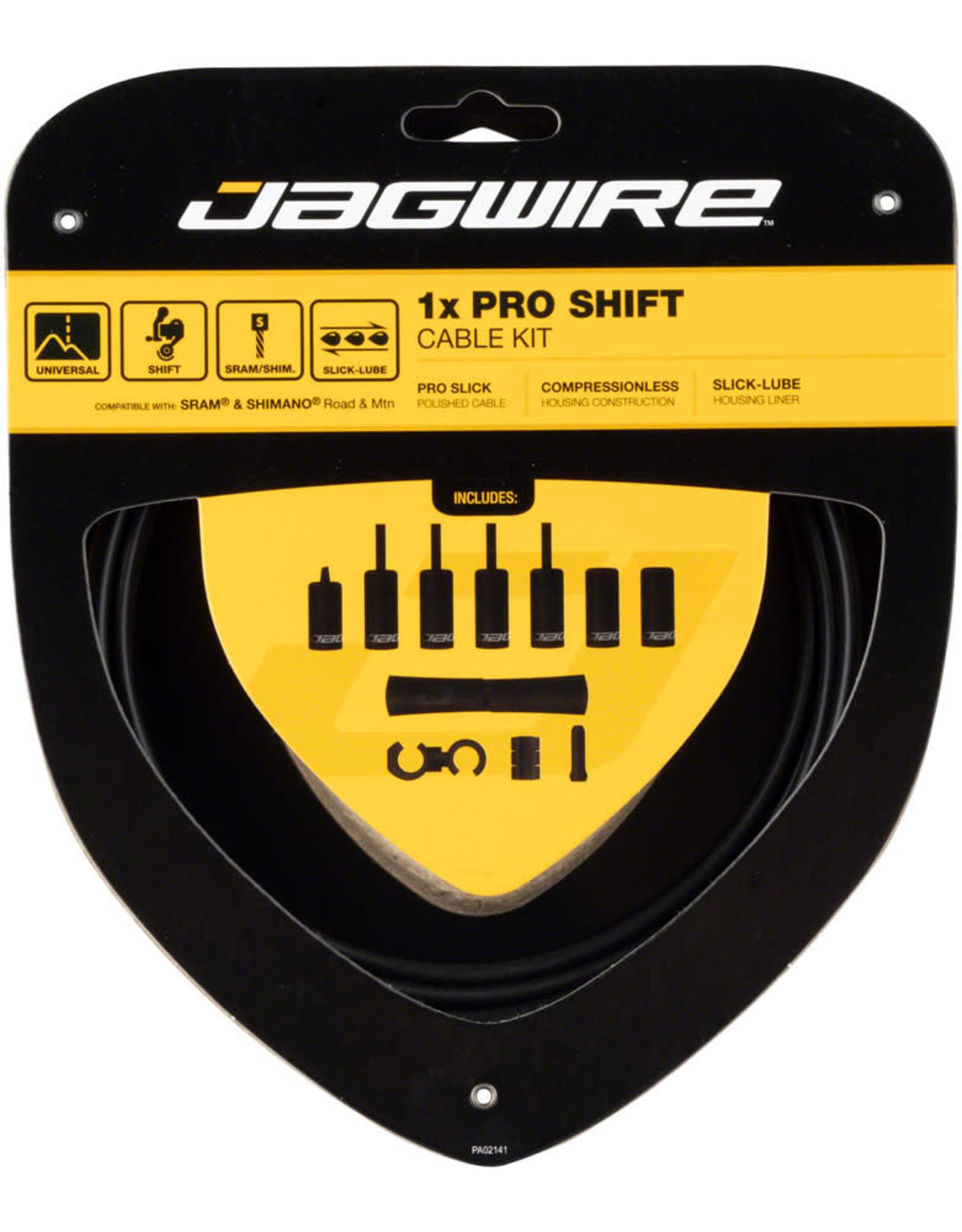 Jagwire Jagwire 1x Pro Shift Kit Road/Mountain SRAM/Shimano, Stealth Black