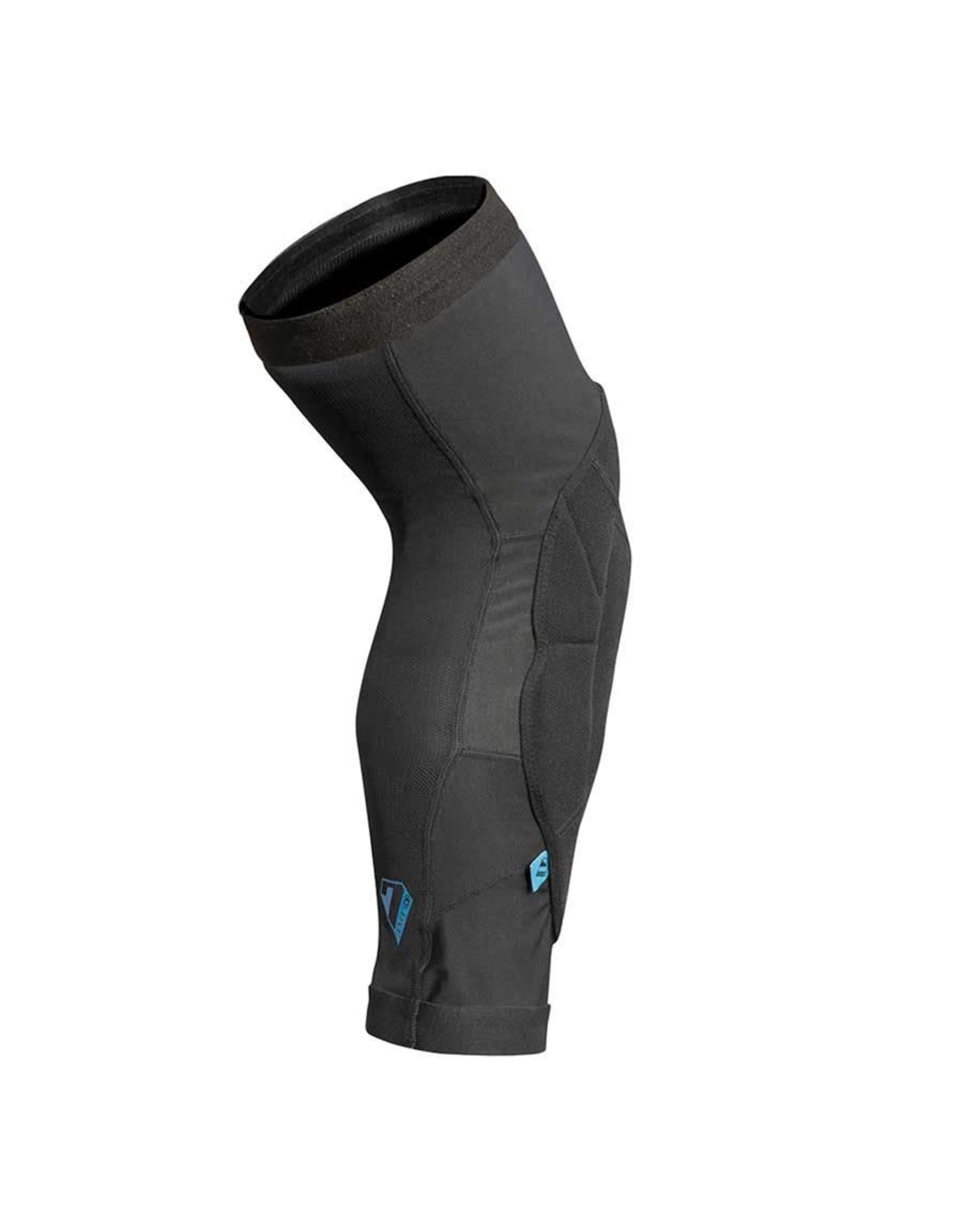 7iDP 7iDP Sam Hill, Knee Guard, Black, Pair