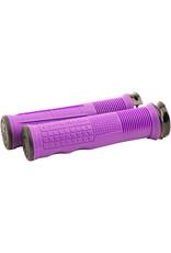 Chromag Chromag, Format, Grips, 133mm, Purple, Pair